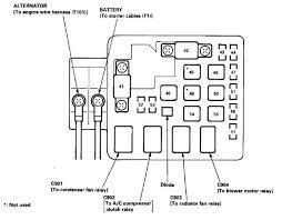 94 honda civic main relay wiring diagram wiring diagram