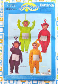 Butterick Halloween Costume Patterns Butterick 6292 Childrens Teletubbies Costume Pattern Fragolina