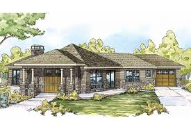prairie style house plan baltimore 10 554 front plans associated