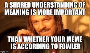 Spelling Police Meme - one does not simply meme imgflip