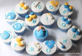 simple baby shower cupcakes zone romande decoration