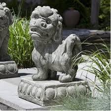 fu dog statues for sale asian garden statues decorating ideas
