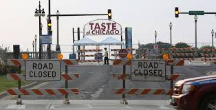 Chicago Map Traffic by Complete Guide To The Taste Of Chicago Maps Menus And Tips