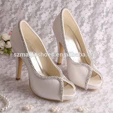 chaussures femme mariage chaussures femmes ivoire nouveau reep bout ouvert ivoire