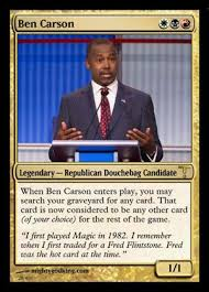 Magic Card Meme - the 2016 election is so much better as magic the gathering cards