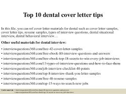 sample cover letter for resume dental hygienist