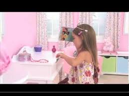 Kidkraft Swivel Vanity Kidkraft Sweetheart Vanity And Stool 13030 Youtube