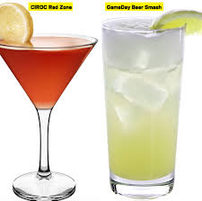 check out these bowl themed cocktails to make for day