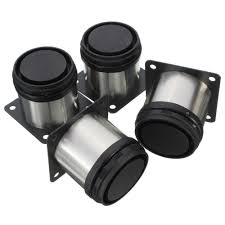 Adjustable Legs For Kitchen Cabinets 4pcs Adjustable Cabinet Legs Stainless Steel Kitchen Feet Round