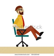 Office Chair Exercises Chair Exercise Stock Vectors Images U0026 Vector Art Shutterstock