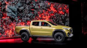 mercedes 6 wheel pickup mercedes benz x class pickup concepts revealed nissan navara