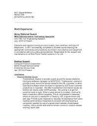 nasa enterprise service desk resume