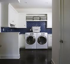 blue laundry rooms white room cabinets interior designs