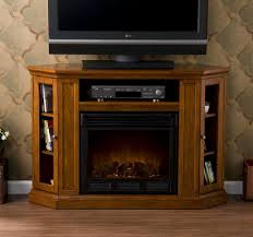 Amazon Fireplace Tv Stand by Tv Stands Corner Electric Fireplace Tvnd Oak Clearance Menards