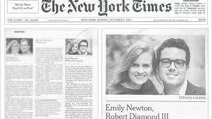 new york times wedding announcement the of the hedge fund wealth management