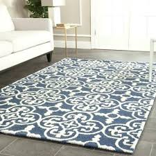 Navy Blue Area Rug 8x10 Amazing Blue And Cream Area Rug Navy Rugs 8 10 Incredible Lovable