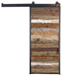 Reclaimed Wood Interior Doors Vertical Reclaimed Panel Barn Door Rustic Interior Doors By