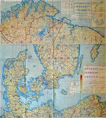Map Of Norway Mullock U0027s Auctions Wwii Raf Escape Map Of Norway Sweden Denmark