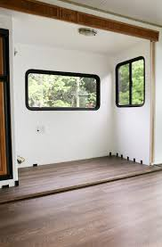 Can You Put Laminate Flooring In A Kitchen Tips To Replace The Flooring Inside A Rv Slide Out Rv Camping