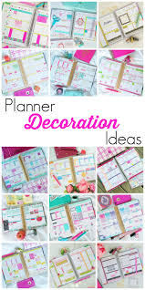 planner decoration ideas the chic life