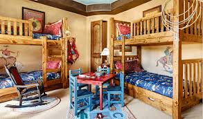 Cowboy Bunk Beds 22 Cool Designs Of Bunk Beds For Four Home Design Lover
