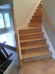 Laminate Floor For Stairs Treads And Risers Seattle General Contractor And Hardwood Flooring