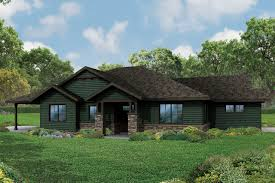 ranch house new ranch house plan the baileyville has craftsman detailing
