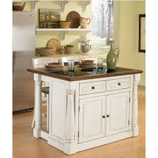 homestyle kitchen island home styles monarch kitchen island with granite top and two stools