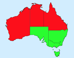 Australia Time Zone Map by Time Zones U2013 Five Guys Facts U2013 Medium