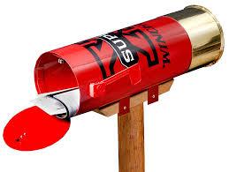 amazon com rockin w brand winchester super x shotshell mailbox