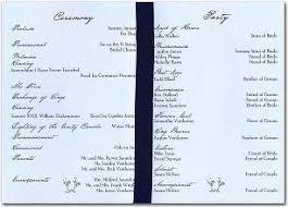 layout of wedding ceremony program program layout daway dabrowa co