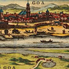 Goa Map Goa India 1672 Baldaeus Plan View Old Map Battlemaps Us