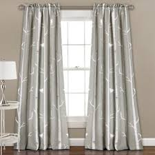 birch tree curtains wayfair