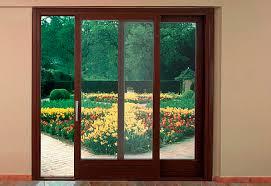 Wooden Sliding Patio Doors Sliding Patio Door Wooden Glazed Interscala