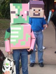 Minecraft Enderman Halloween Costume Minecraft Skeleton Costume Son U0027s Halloween