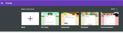 new google forms u2013 templates options and more library and