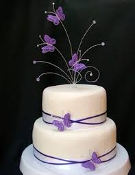 Wedding Decorations Butterflies Purple Butterflies Wedding Cake Toppers Archives The Wedding