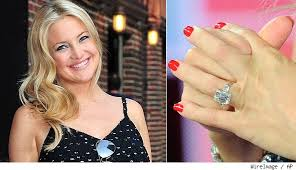 kate engagement ring diamondideals kate hudson s engaged a look at ring