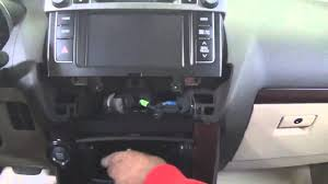 toyota prado 2014 headunit removal youtube