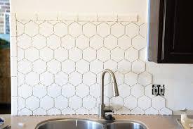 hexagon tile kitchen backsplash hexagon tile in the kitchen vintage revivals