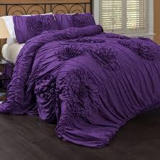 bedroom elegant purple comforter sets for bedroom decoration
