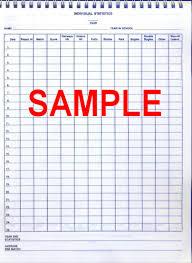 Golf Stat Tracker Spreadsheet Team Golf Gear Easy Golf Book Golf Coaches Scoring Book