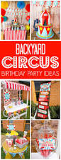 backyard carnival party