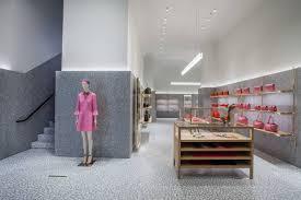 valentino unveils three story mega boutique in miami u0027s design district
