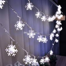 chasing snowflake christmas lights 10m 100led christmas lights snowflake l holiday lighting for