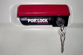 2002 ford ranger tailgate pop and lock pl2310 black manual tailgate lock
