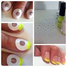 diy easy french tips this is the easiest way i u0027ve ever seen it