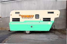 vintage camper the comet camper