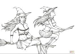witches from manga bleach coloring page free printable coloring
