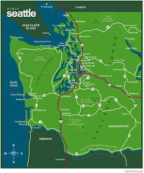 Map Of Washington Coast by Seattle Good City Good Nature U2013 The Urban Observer